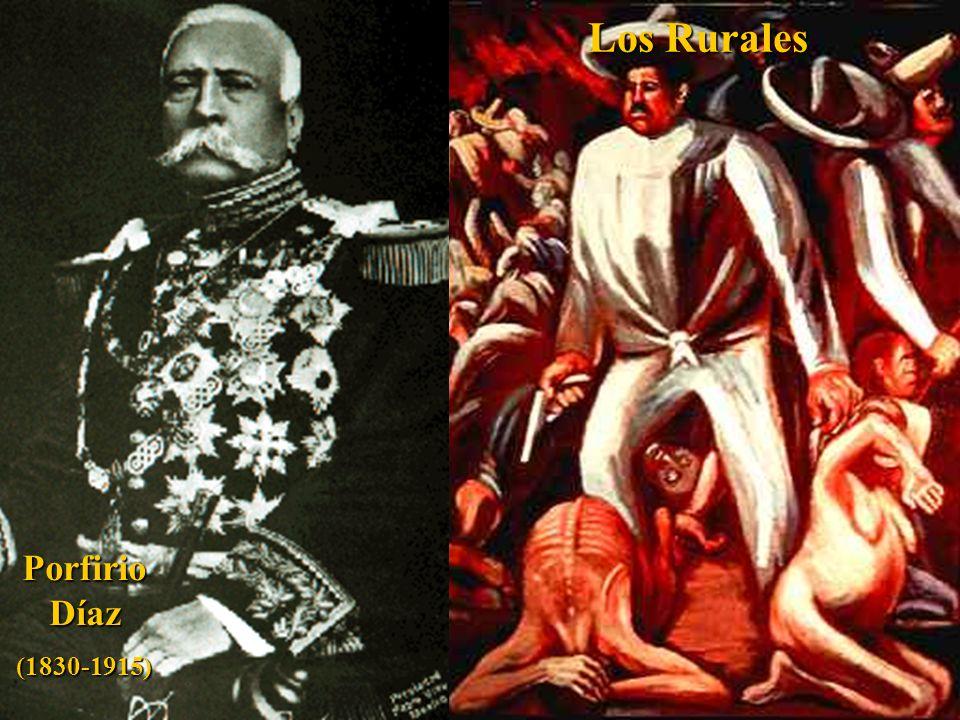 David Siquieros Mural: Don Porfirio [Diaz] and his Courtesans .