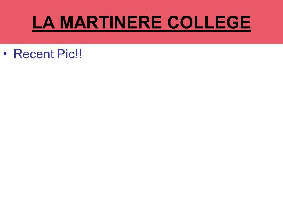 LA MARTINERE COLLEGE Recent Pic!!