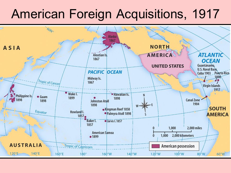 American Foreign Acquisitions, 1917
