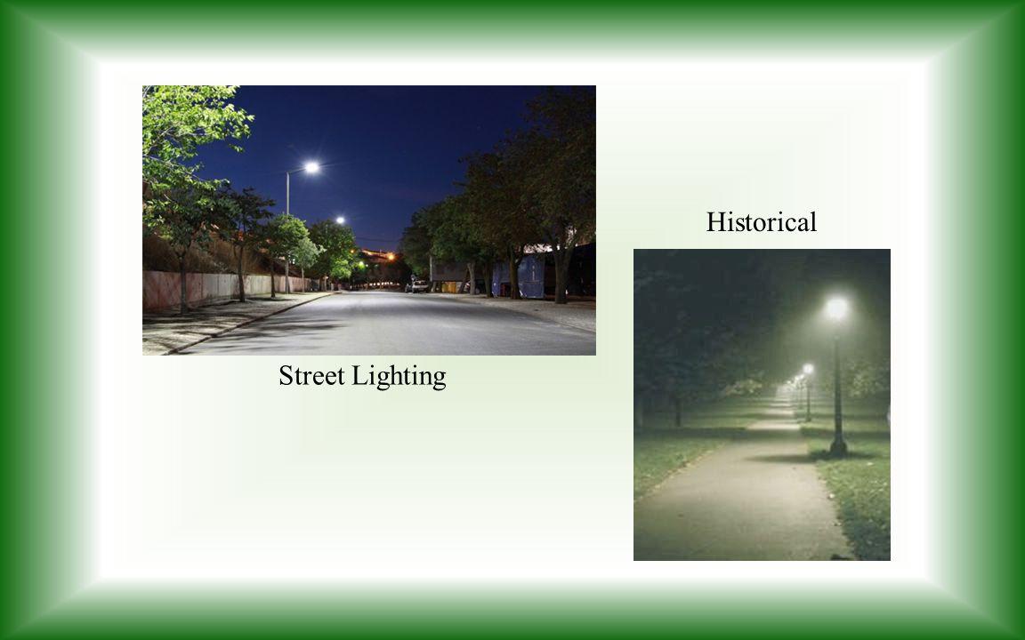 Street Lighting Historical