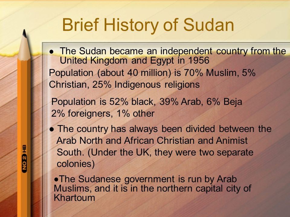  2007: President Bush called situation genocide and threatened sanctions on Sudanese gov; soon after, the Sudanese government agreed to a UN peacekeeping force of 26,000 to join African Union troops starting Jan 1, 2008.