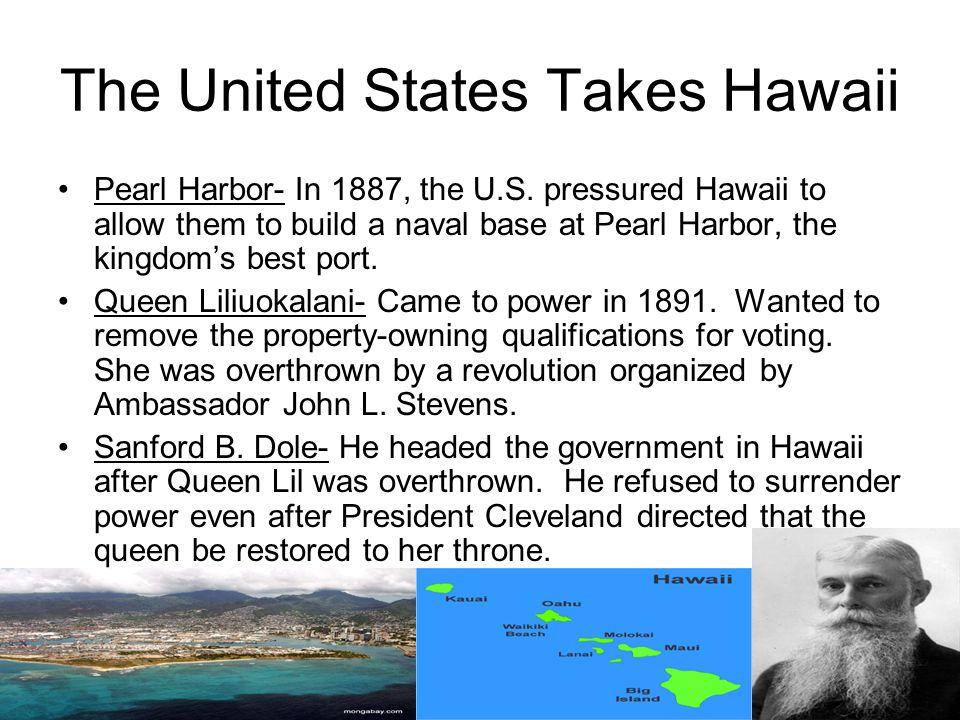 Hawaii for the Hawaiians Again Queen Liliuokalani was one of the most renown queens of Hawaii.