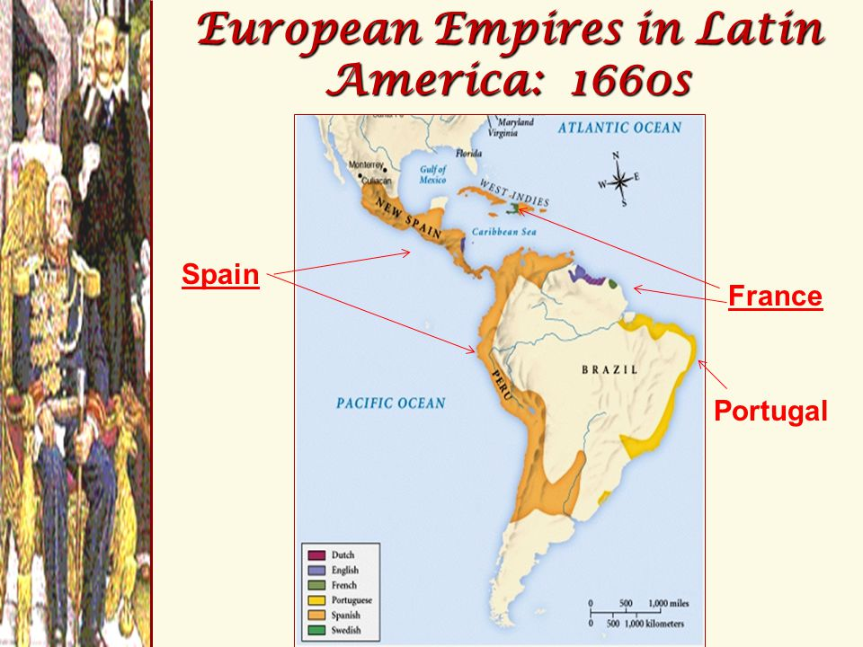 Peninsulares (men born in Spain) Creoles (Spaniards born in Latin America) Mestizos (mixed European & Indian ancestry) Mulattos (mixed European & African ancestry) Africans (majority enslaved) Indians (of little economic value) Early Social Class in Latin America Early Social Class in Latin America Colonial society was divided into six classes based on birth