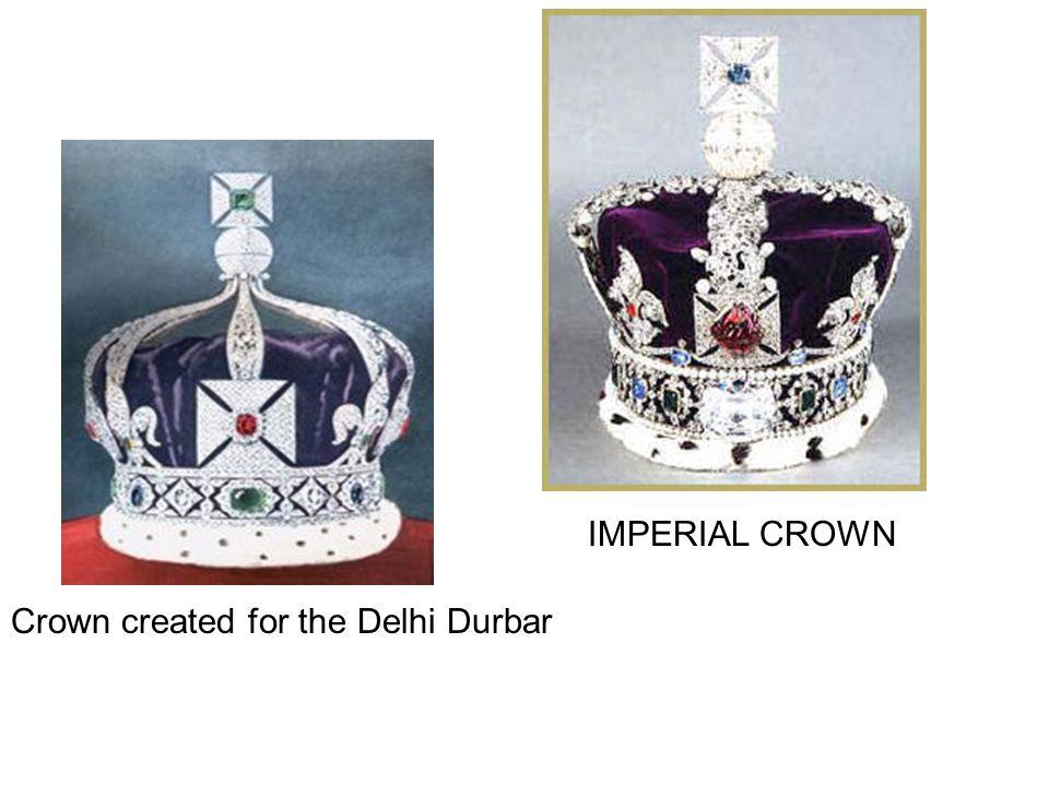 Crown created for the Delhi Durbar IMPERIAL CROWN