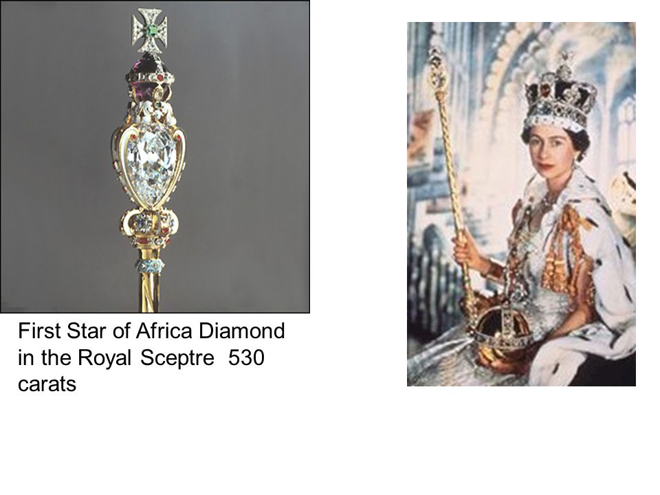 First Star of Africa Diamond in the Royal Sceptre 530 carats