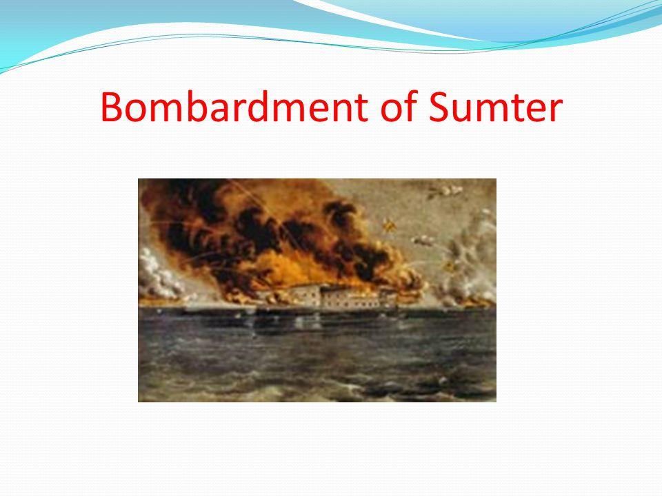 Bombardment of Sumter