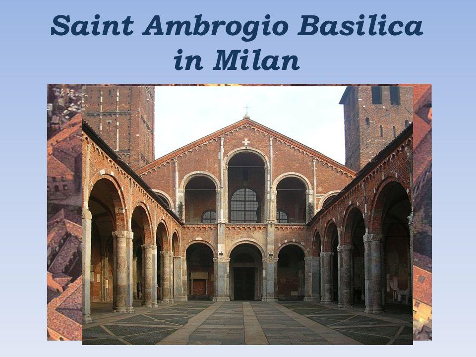 Saint Ambrogio Basilica in Milan