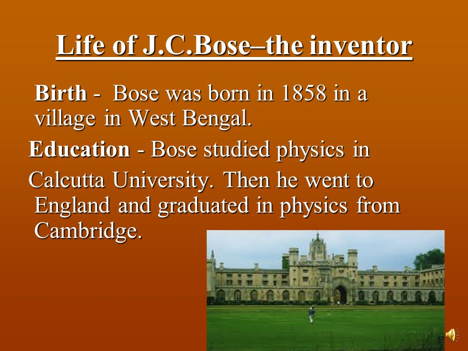Invention of Crescograph Invention of Crescograph Crescograph is a wonderful instrument invented by Jagdish Chandra Bose. Crescograph is a wonderful i
