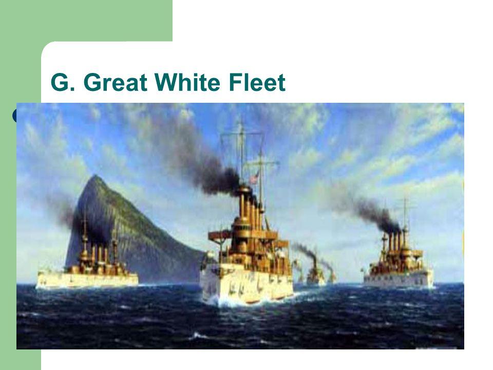 G. Great White Fleet