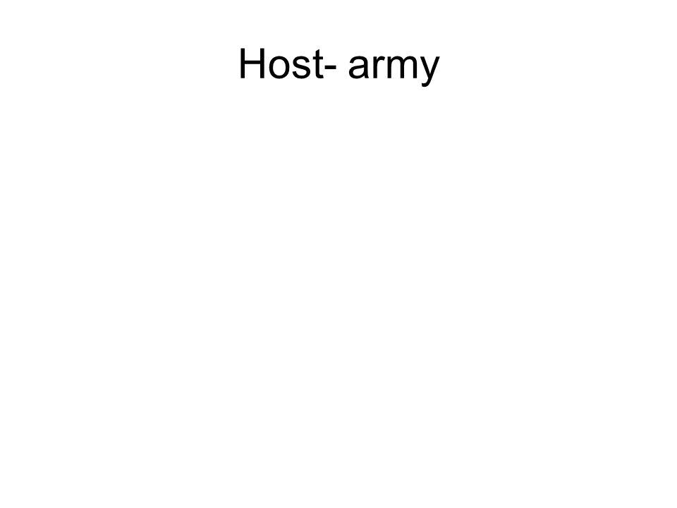 Host- army
