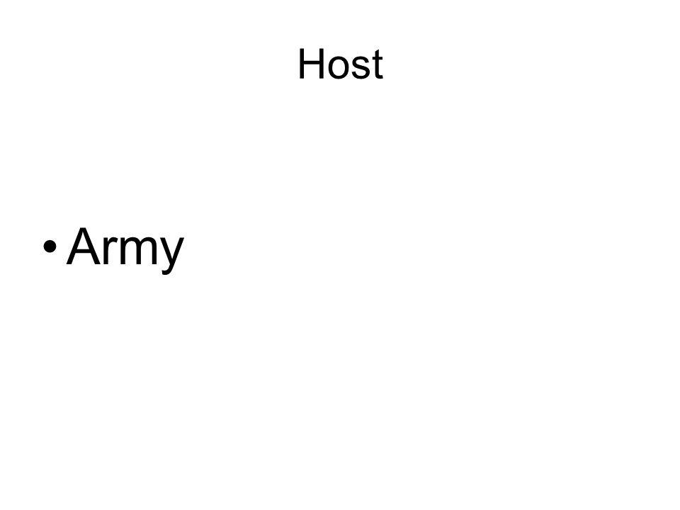 Host Army