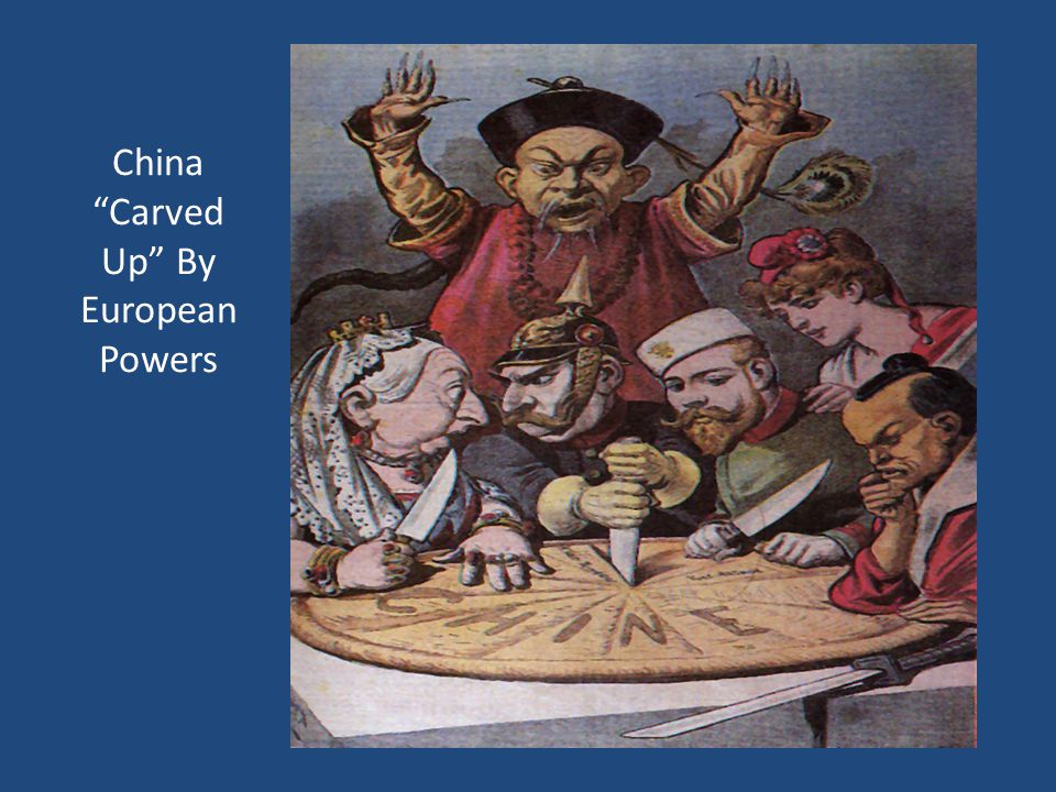 """China """"Carved Up"""" By European Powers"""