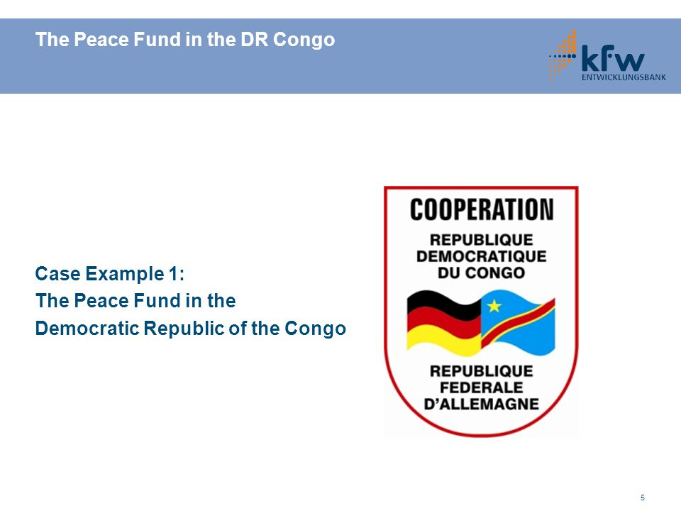 6 DR Congo – Situation Then and Now ● Disastrous civil war from 1997 to 2002 ● Peace agreement in 2002 and first free elections in 2006  improvement of security situation; high economic growth rate ● But still… …continuous regional fightings between army and rebel groups …DR Congo is one of the least developed countries in the world …economic situation is marked by high unemployment, high corruption rate and insufficient legal security ● Especially in the east part the trust of the population in the state is very low ● Lack of perspectives leads to incentives to join criminal activities