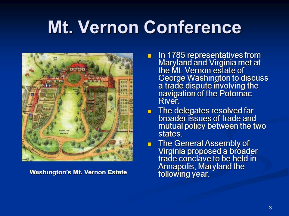 4 Annapolis Convention Some Americans began contemplating radical changes because they were unhappy with the impotence of the Articles of Confederation.