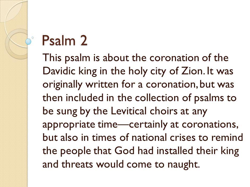 Psalms Bible Study: 7:00-8:45pm June 10Intro & Psalm1 June 17Psalm 2 June 24NO CLASS July 1Psalm 63 July 8Psalm 23 July 15Psalms of Ascent Hallel Psalms Psalm 150 Praise & Worship