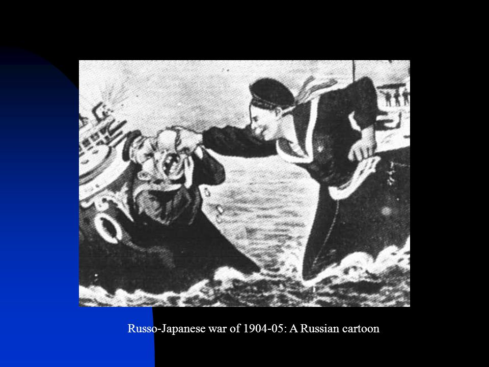 Russo-Japanese war of 1904-05: A Russian cartoon