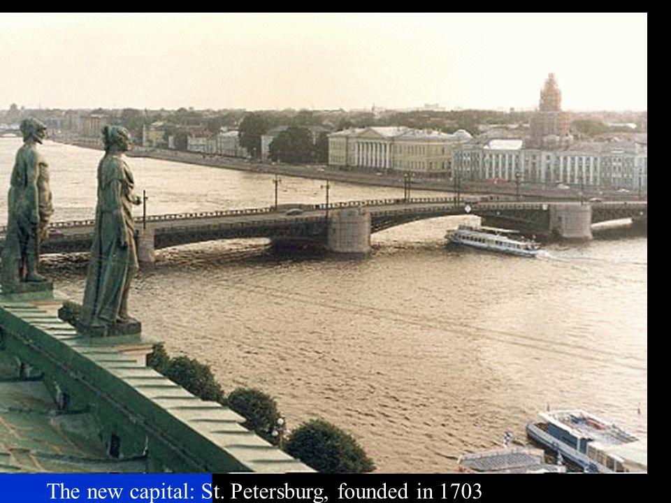 Poseidon over St. Petersburg