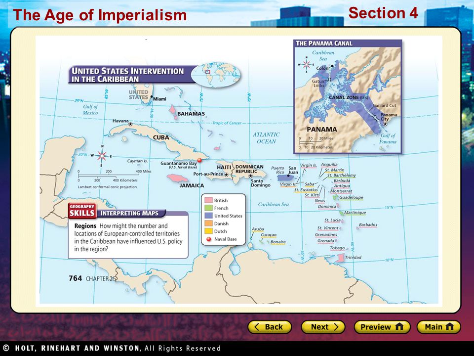 The Age of Imperialism Section 4