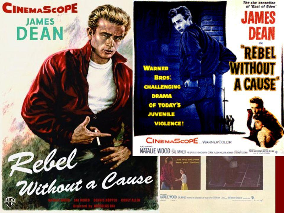 Film released in October 1955 Dean is killed in September of 1955
