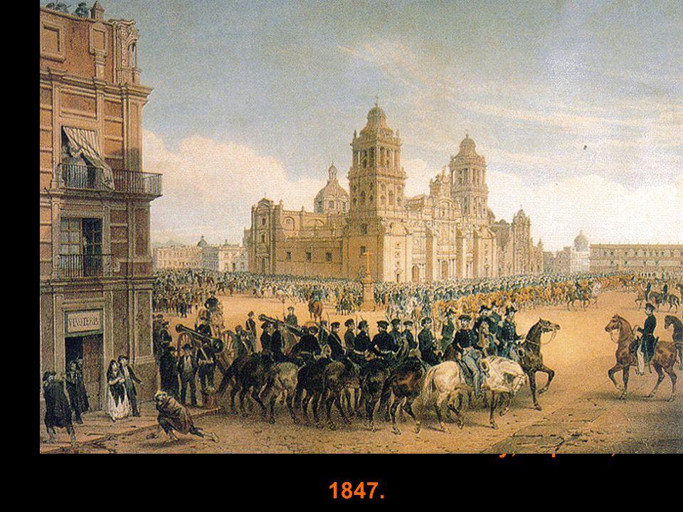 Gen. Scott s entrance into Mexico City, Sept. 14, 1847.