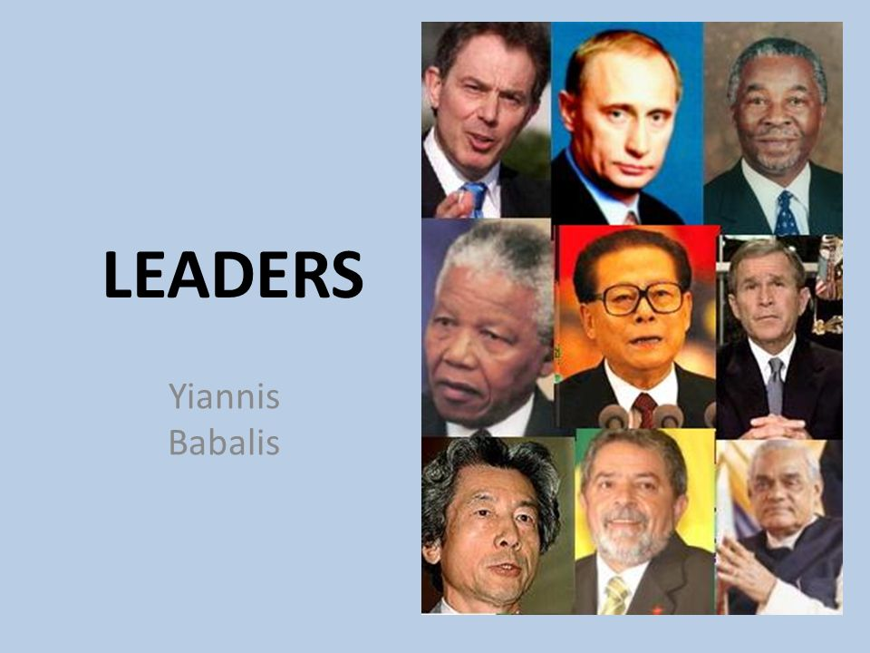 LEADERS Yiannis Babalis