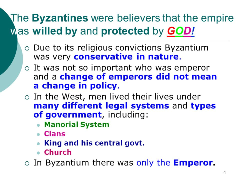 3 Justinian bankrupts Byzantium by trying to reestablish the empire in its entirety.