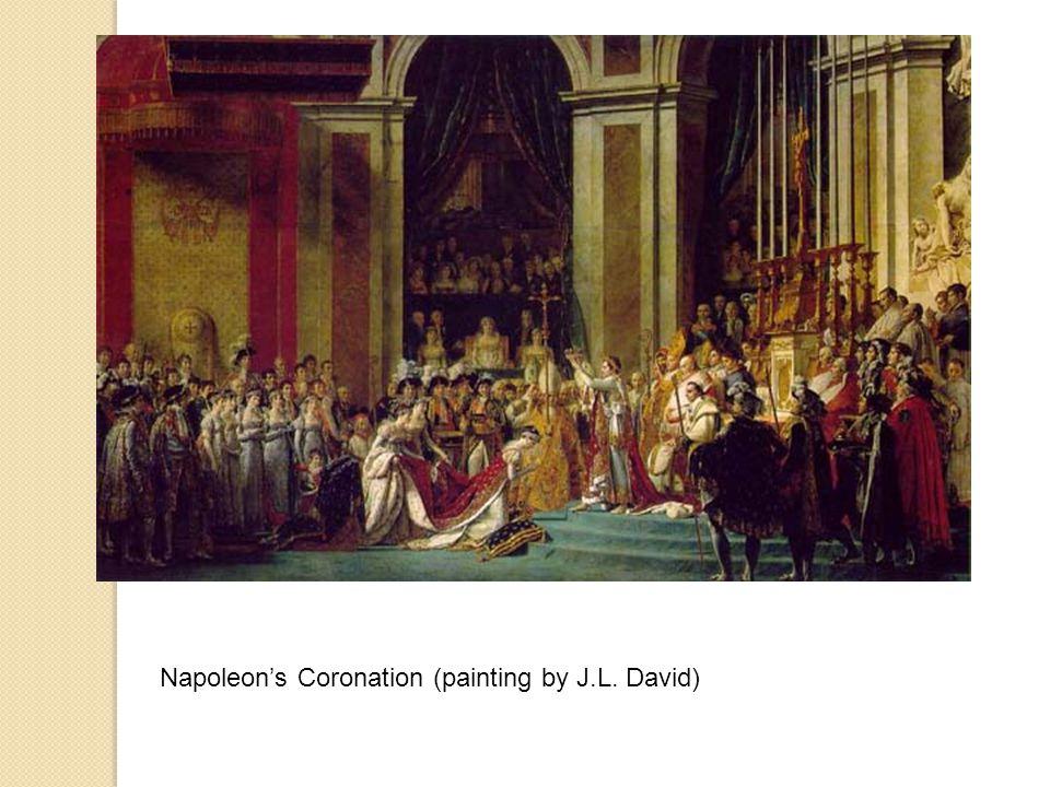 Napoleon's Coronation (painting by J.L. David)