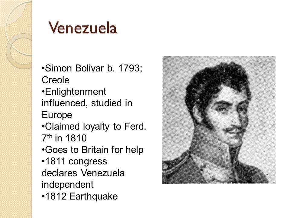 Venezuela Simon Bolivar b.