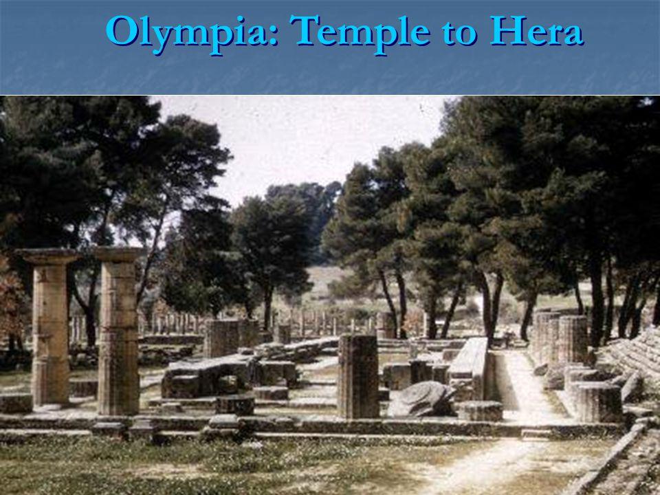 Olympia: Temple to Hera
