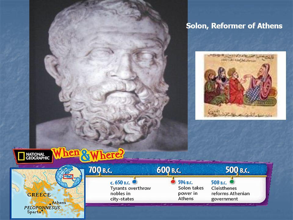 Solon, Reformer of Athens