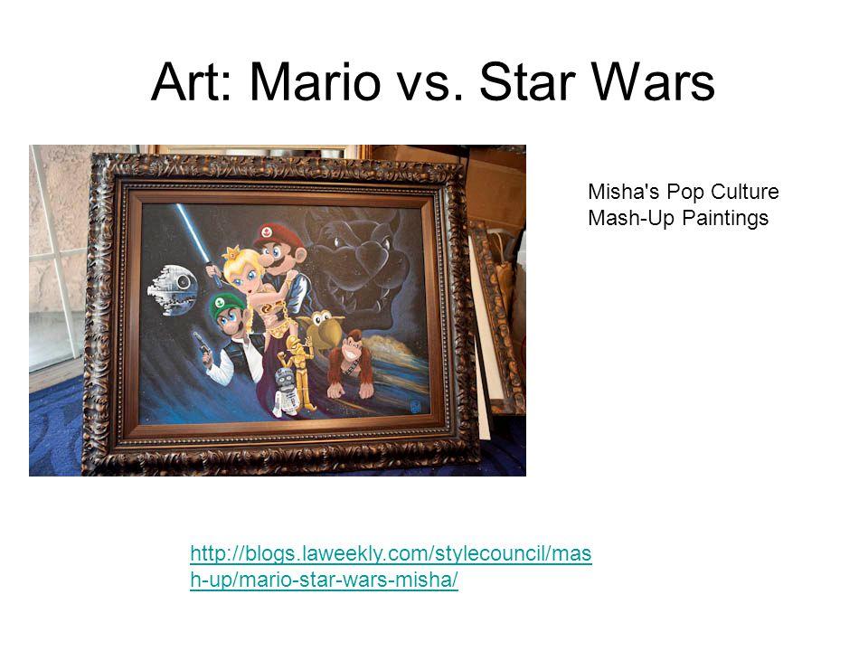 Art: Mario vs.