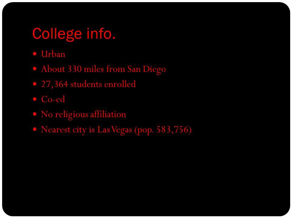 College info.