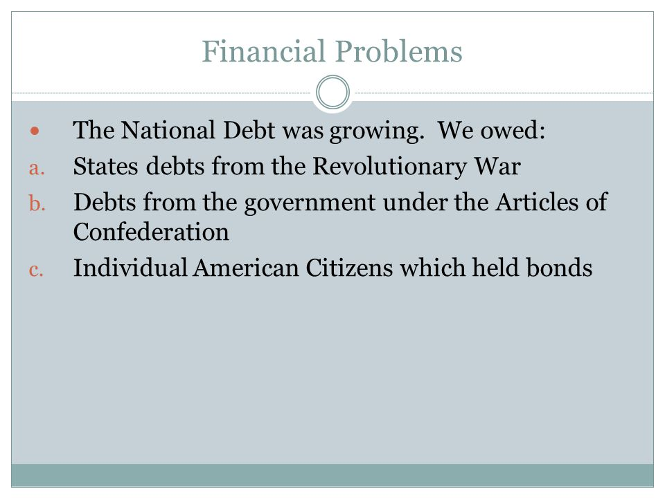 The Rise and Fall of Alexander Hamilton Wanted to pay national debt by buying back bonds from the war.