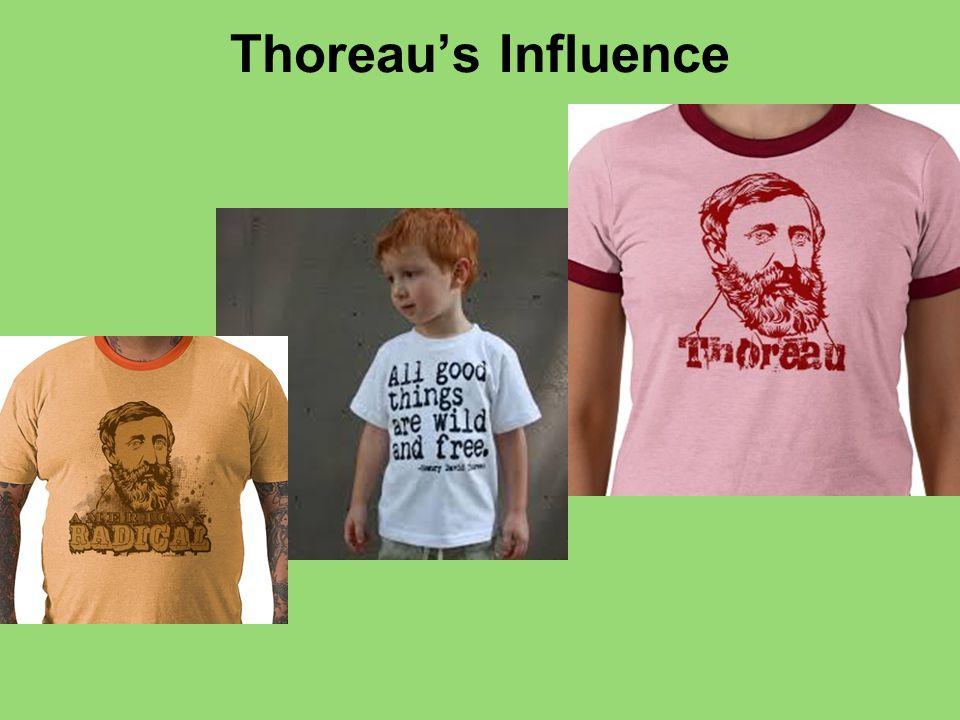 Thoreau's Influence