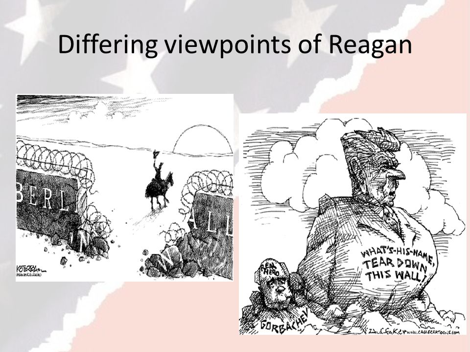 Differing viewpoints of Reagan