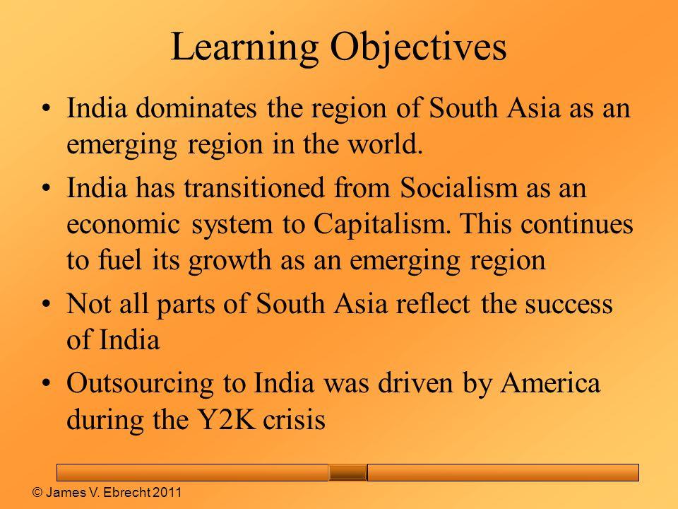 South Asia © James V. Ebrecht 2011