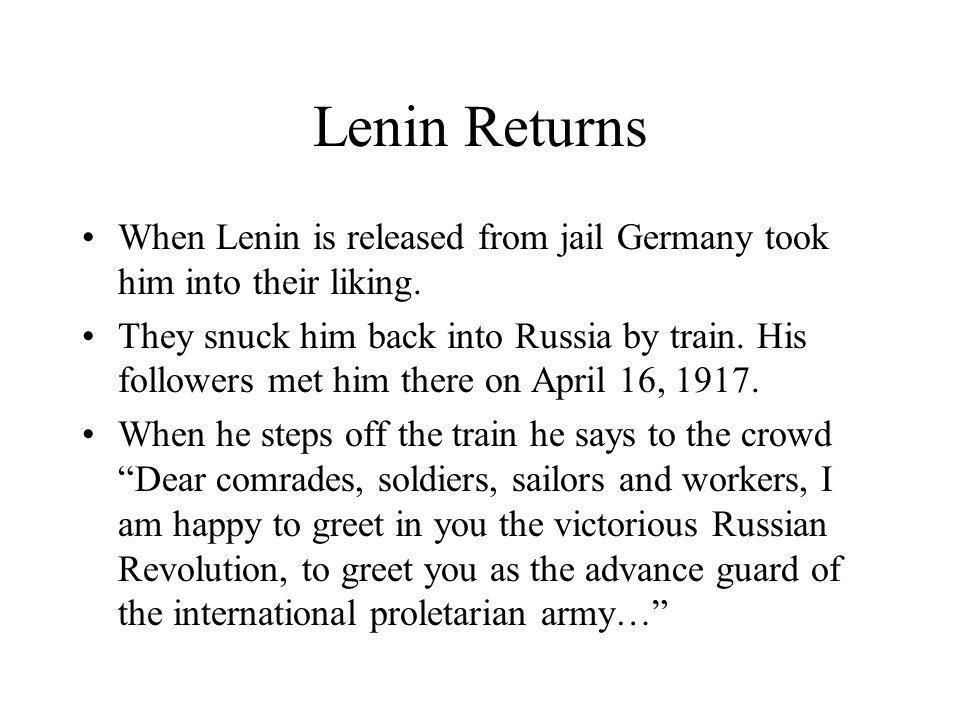 November Revolution On November 17 th the Bolsheviks make their move.
