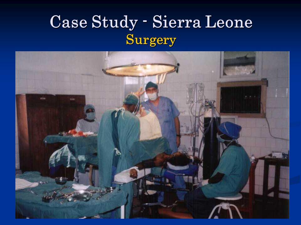 Case Study - Sierra Leone Surgery