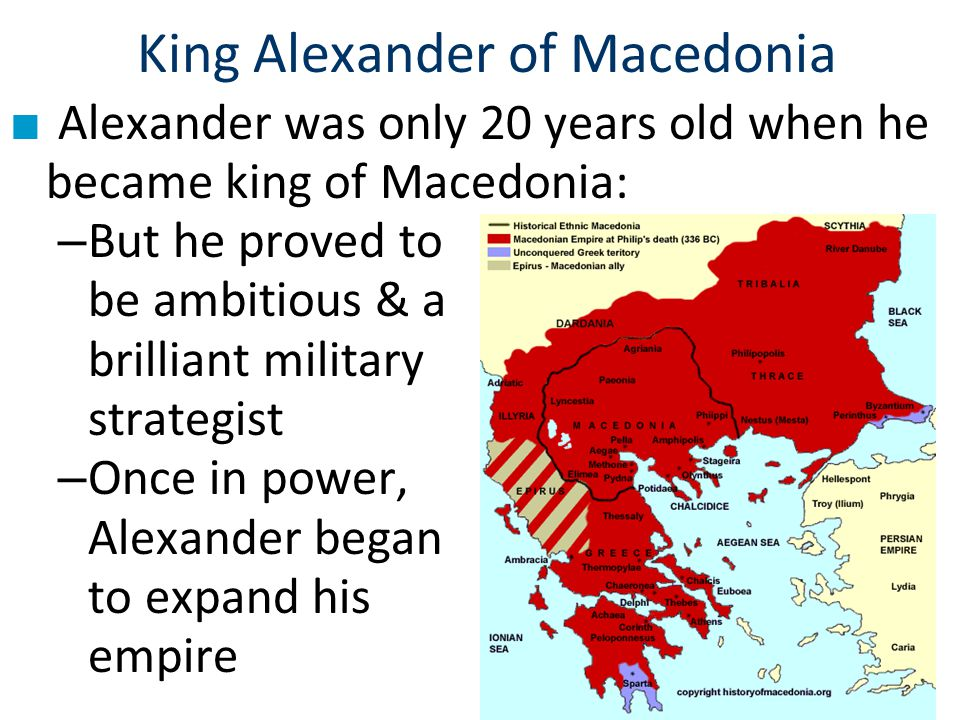 Description #2 Alexander treated some of the rebels with compassion.