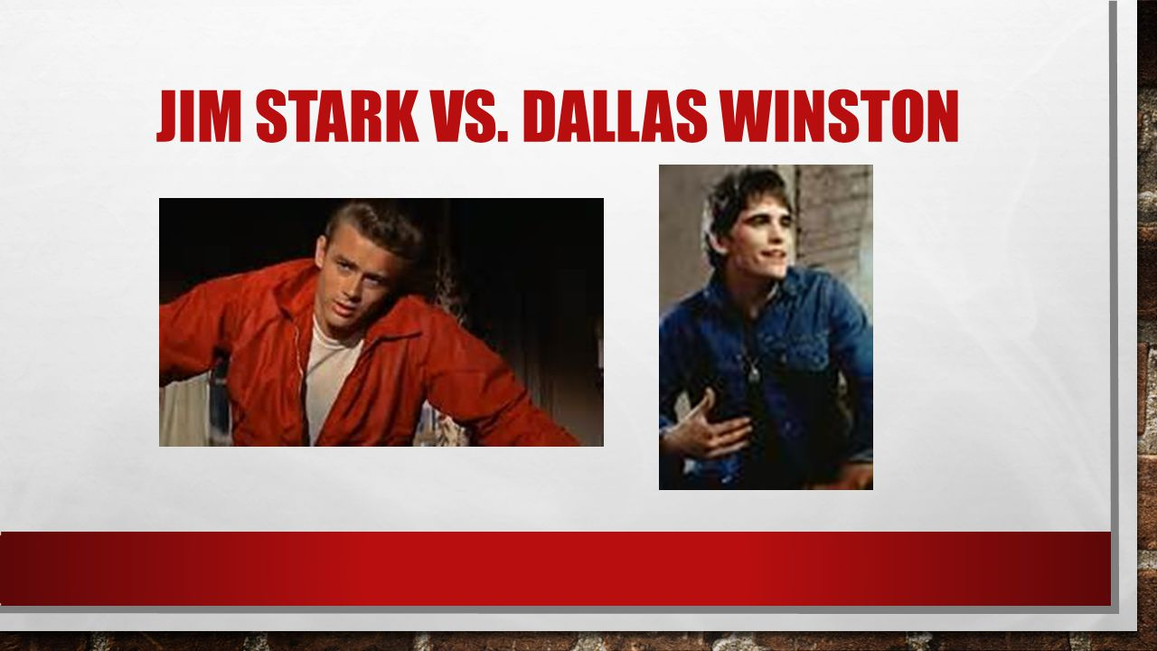 JIM STARK VS. DALLAS WINSTON