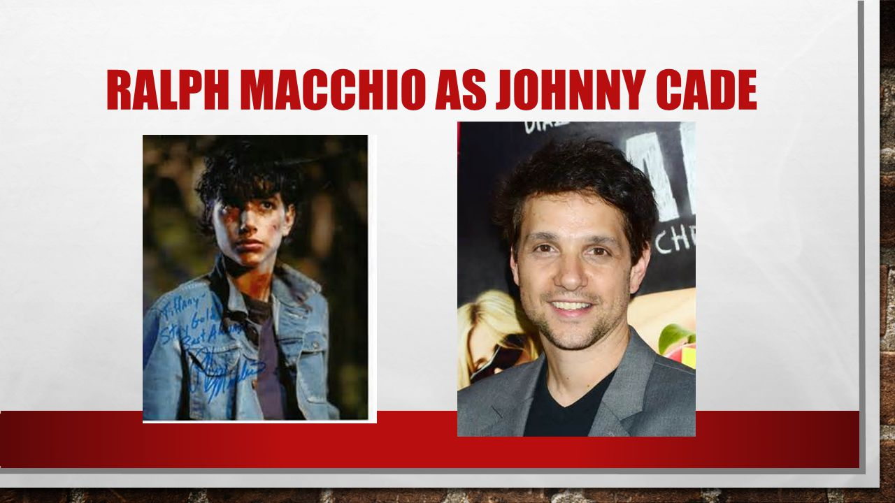 RALPH MACCHIO AS JOHNNY CADE