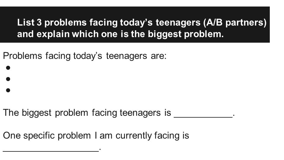 Why is it important for you to solve your problem.