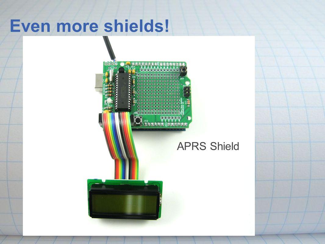 APRS Shield Even more shields!