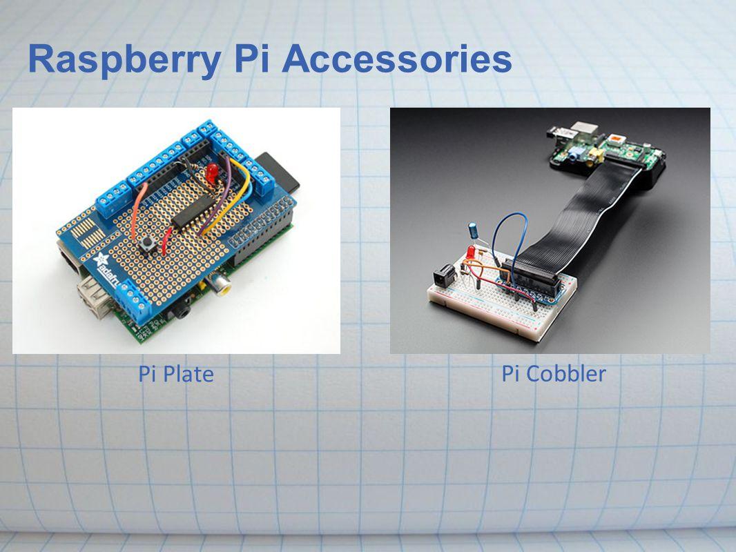 Raspberry Pi Accessories Pi Plate Pi Cobbler