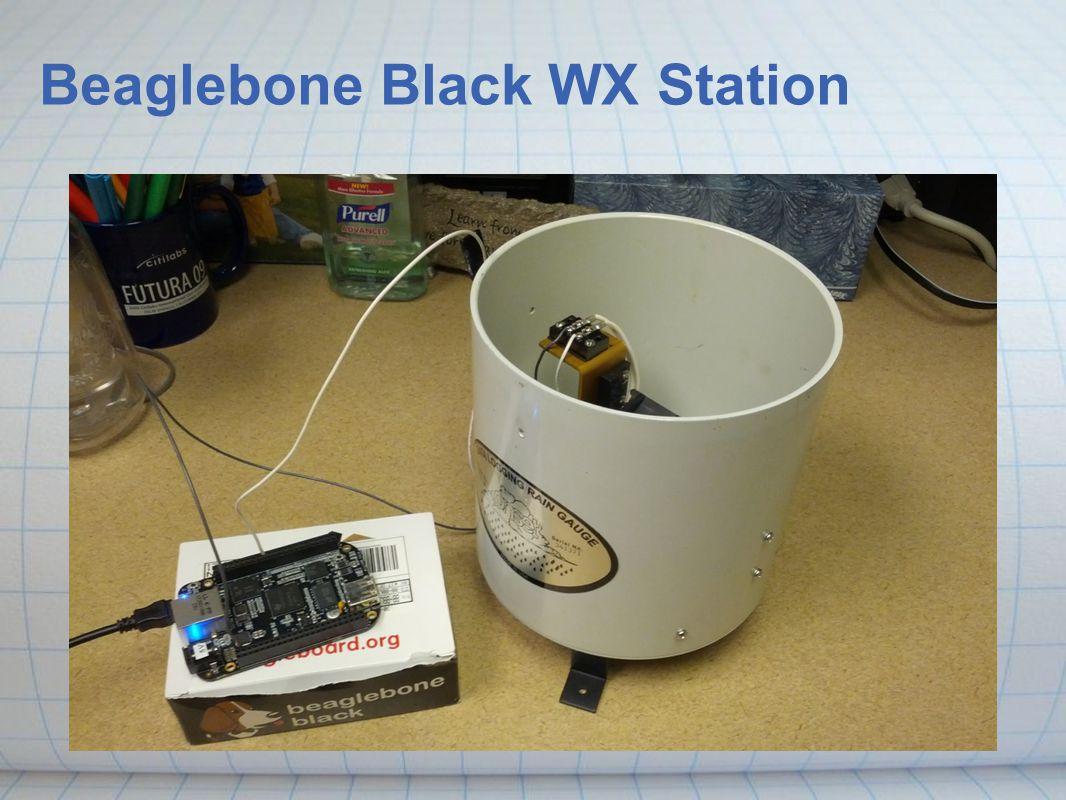 Beaglebone Black WX Station
