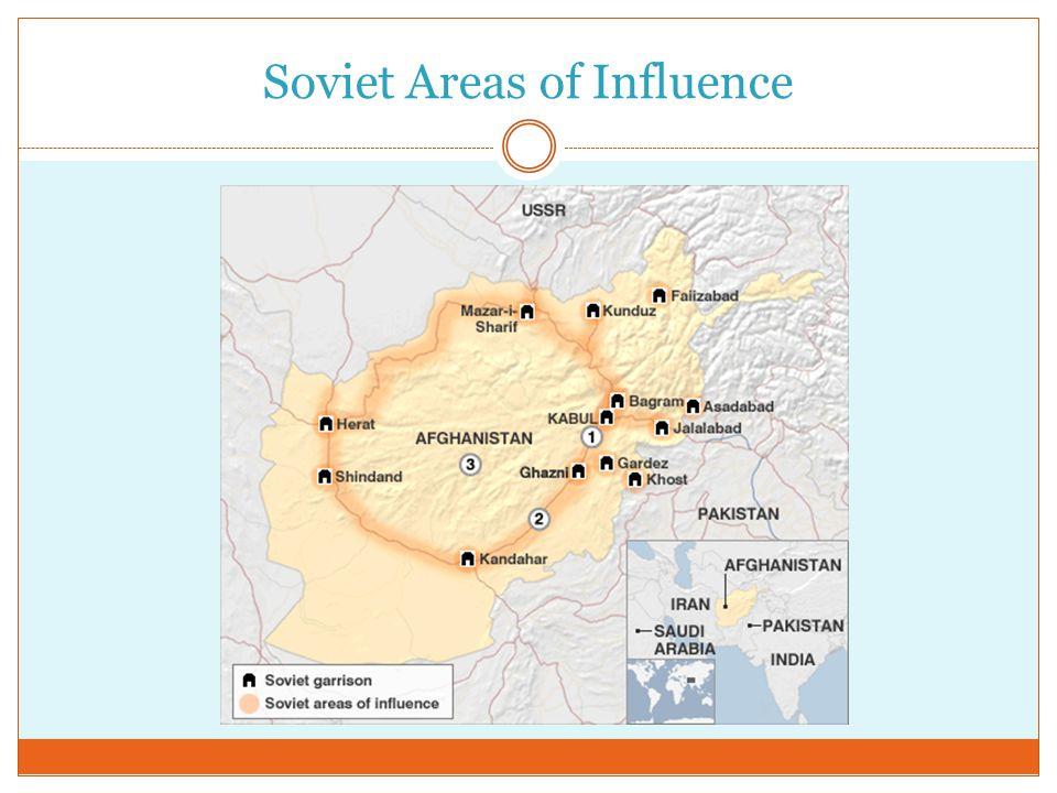 Soviet Areas of Influence