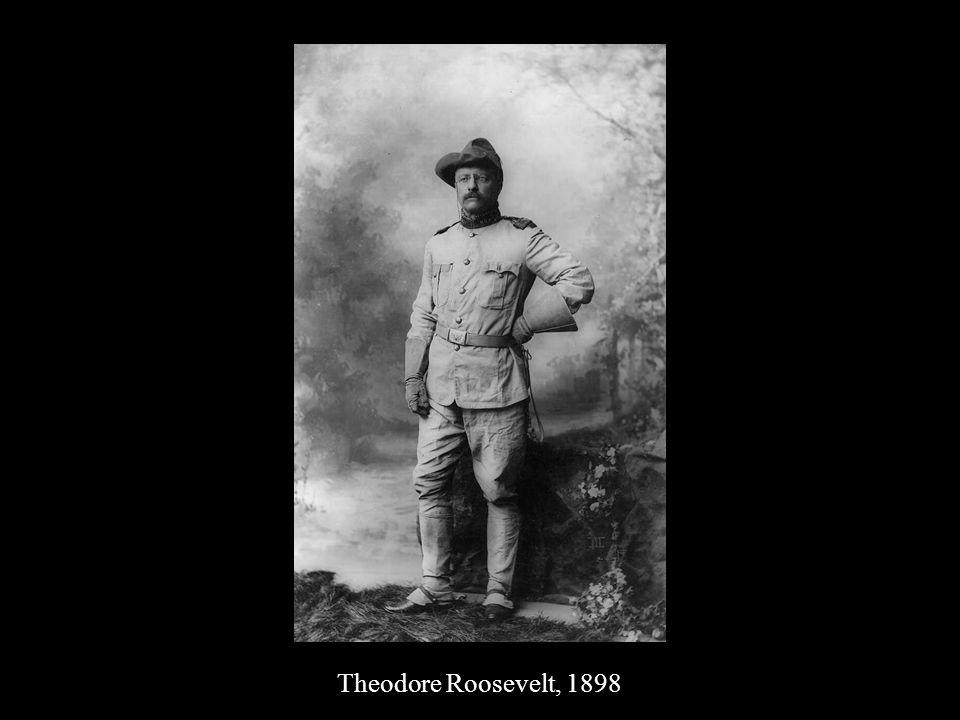Theodore Roosevelt, 1898