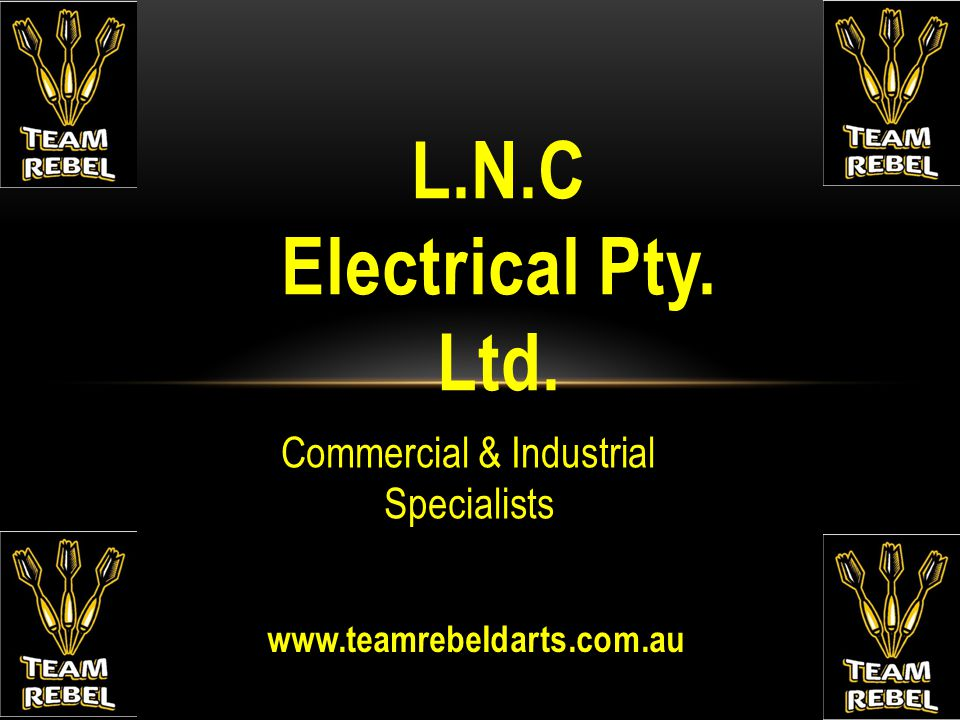 L.N.C Electrical Pty. Ltd. Commercial & Industrial Specialists