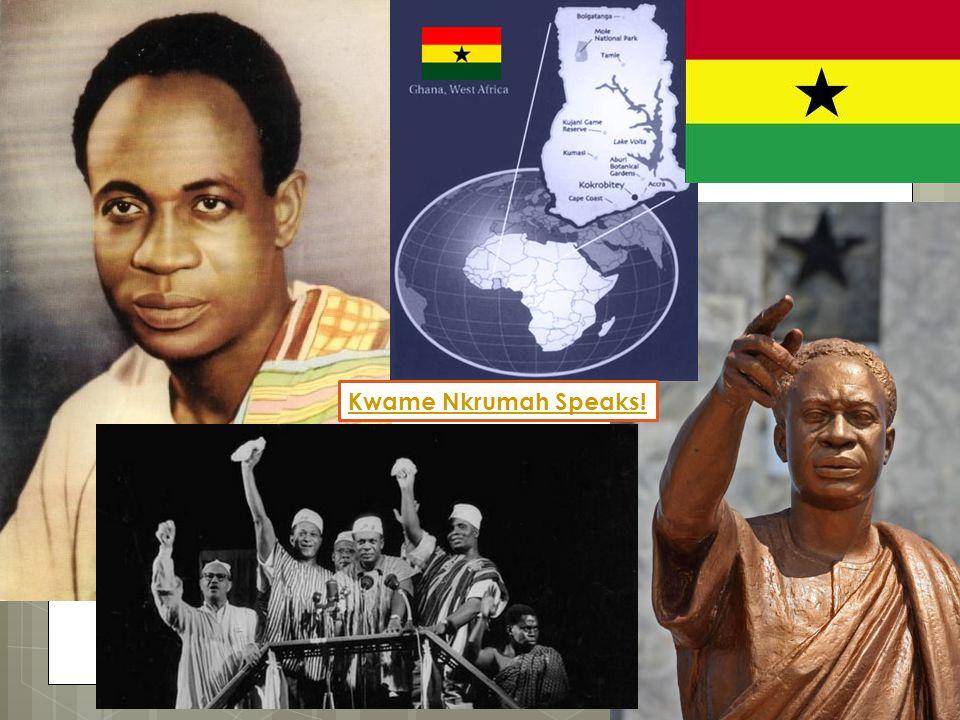 Kwame Nkrumah Speaks!