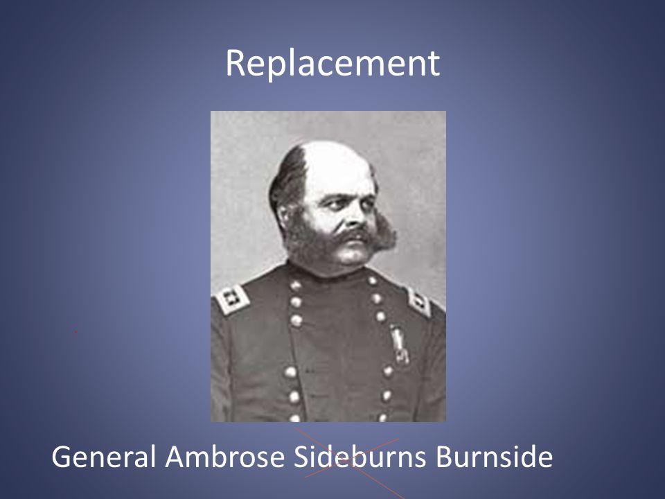 Replacement General Ambrose Sideburns Burnside
